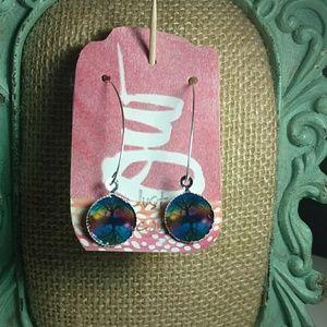 Jewelry - Rainbow Bubble Tree Earrings